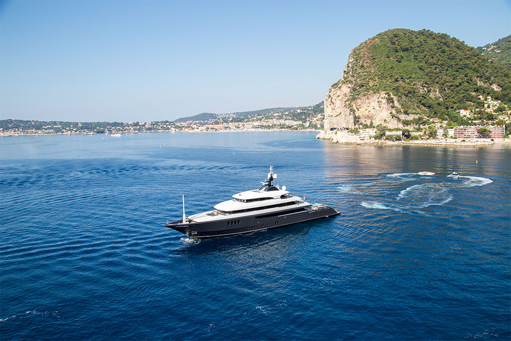 Super Yacht Icon mediterranean